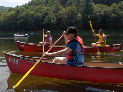 Meg's Canoe trip 8-18-2005 to 8-20-2005