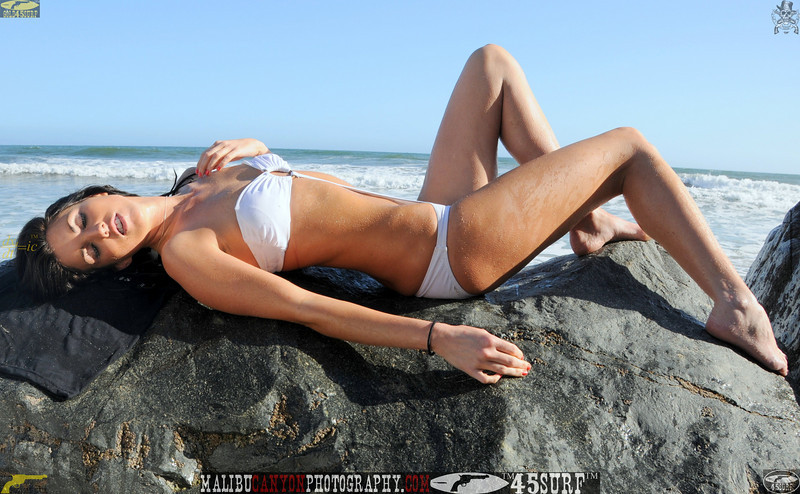 beautiful woman sunset beach swimsuit model 45surf 889.4765