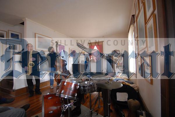 Kazzrie Jaxen Jazz Quartet Living Room Concert