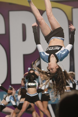 Sky at Cheersport Nationals