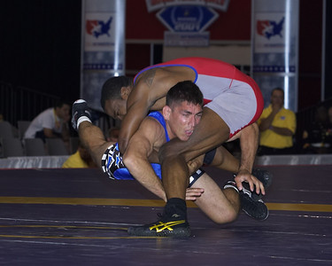 Greco-Roman Championships 74 Kg, T.C. Dantzler (Gator WC) def. Keith Sieracki (U.S. Army)