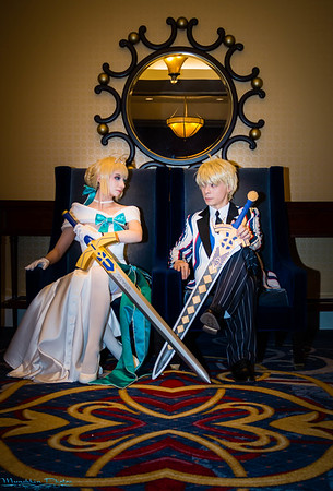 Artoria and Arthur Pendragon