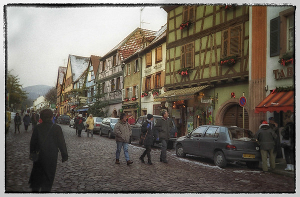 Streets of Alsace Region