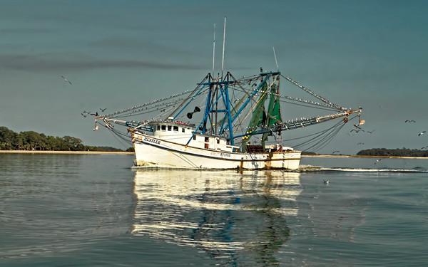 Lowcountry Shrimpboats