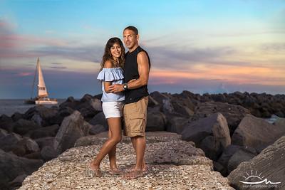 Estefany and Ken - Panama City Beach