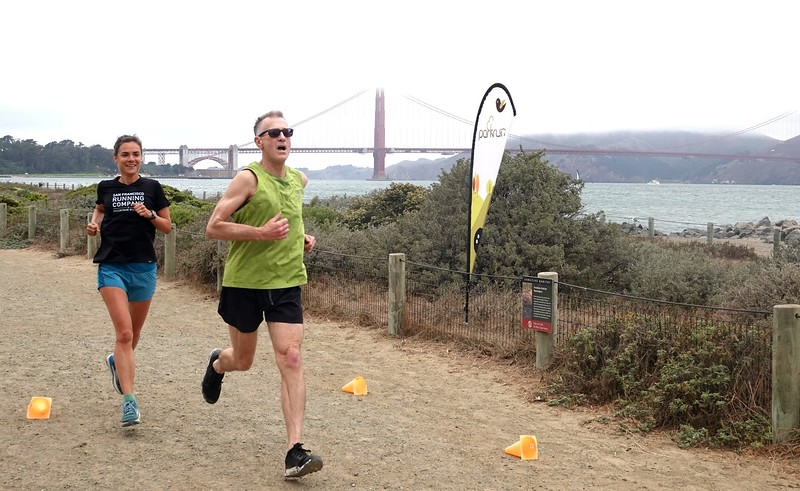 Our first Crissy Field Parkrun