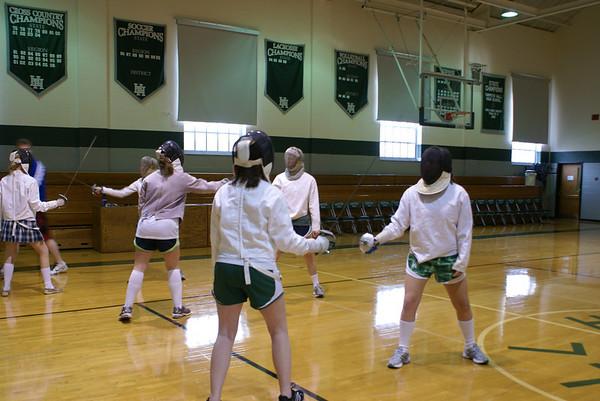 On Campus: Fencing