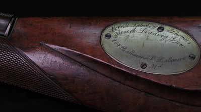 Patent half stock sporting rifle (NSN, MLT) 1