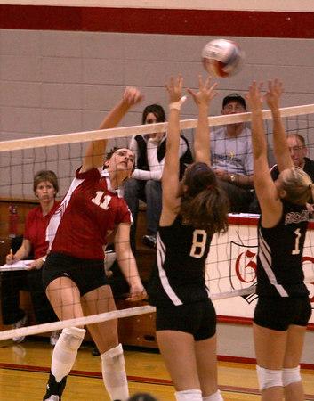 Grace College Volleyball vs Goshen College (Oct-18-06)