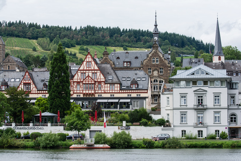 Day 8 - along the Mosel in Traben Germany, July 11th