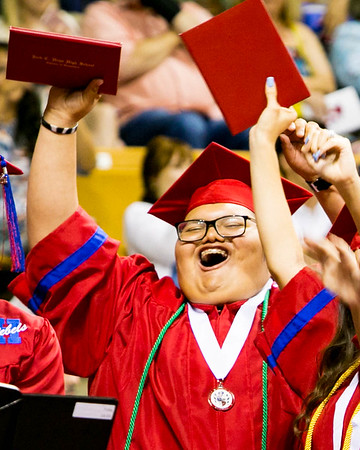 Hays High Class of 2017 Graduation