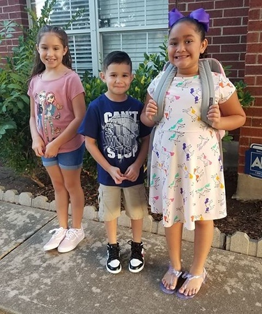 Bryleigh, Kaden and Jordynn | 1st, 1st and 2nd | Giddens Elementary School