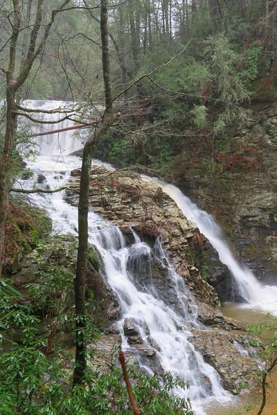 Brasstown Falls (Brasstown Sluice)