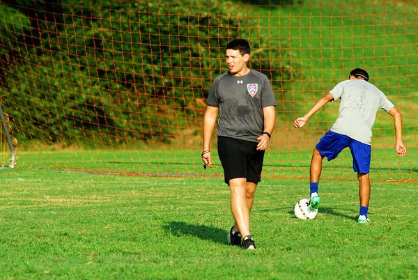 Prep Soccer -- Preseason Practice