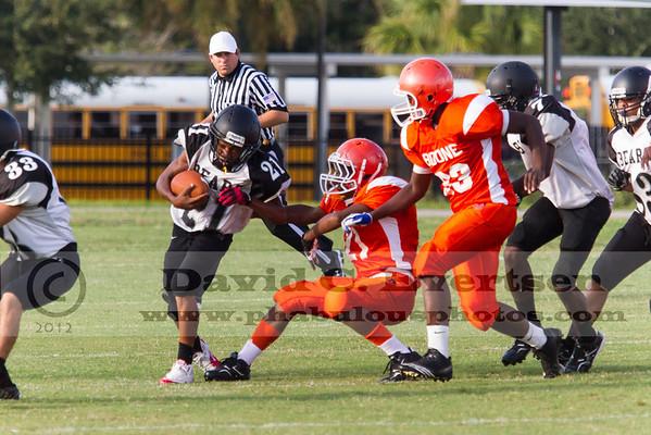 Boone Freshman Football #21 - 2012