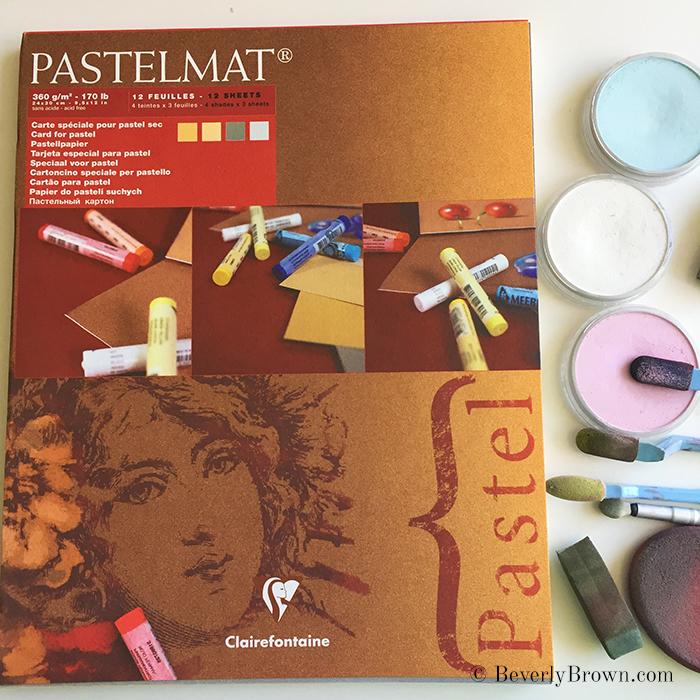 PanPastels and PastelMat paper - Beverly Brown Artist - www.beverlybrown.com