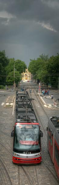 Tram, Prague, Czech Republic