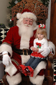 Daylin Hall with Santa