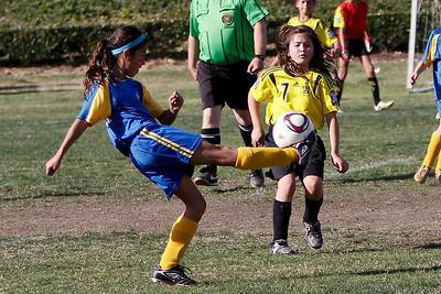 Alana's Soccer Tournament Fountain Valley, 2012