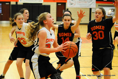 JMS 7th Grade Girls Basketball vs Homer