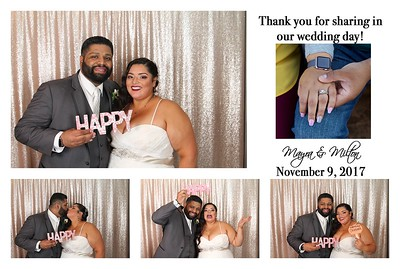Mayra & Milton's Wedding PhotoBooth