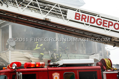East Main St. Fire (Bridgeport, CT) 9/6/11