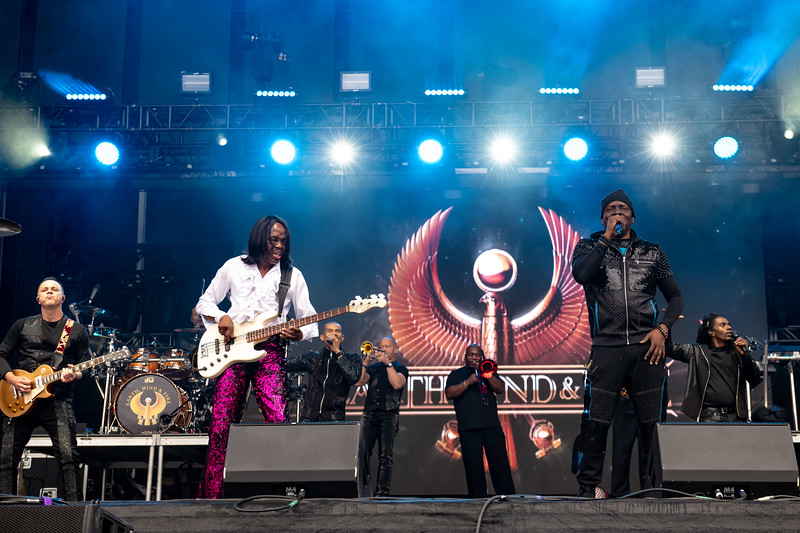 Earth Wind Fire performing at Bottlerock