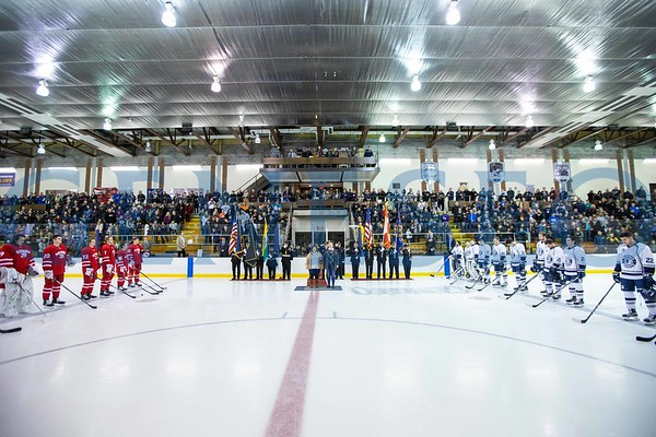 Ice Hockey vs. Plattsburgh (Hutch K-9 Pre-Game Dedication)