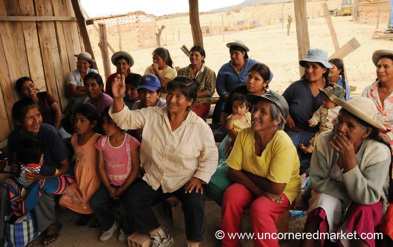 Listening Intently - Tarija, Bolivia