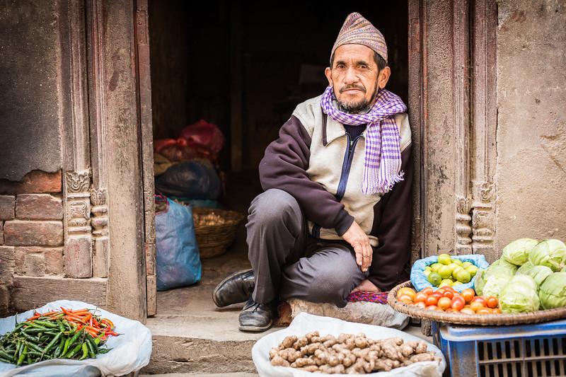 Some vegetables? - Kathmandu