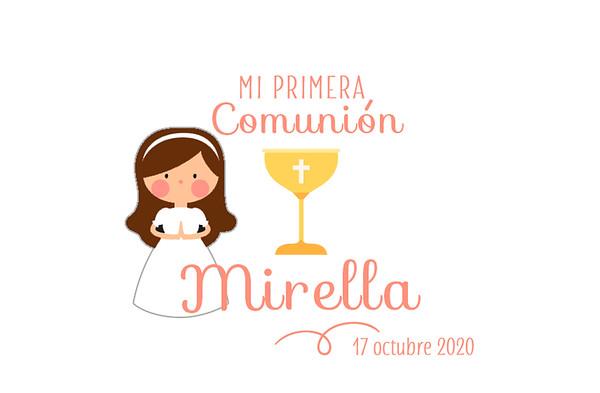 Comunión de Mirella - 17 octubre 2020