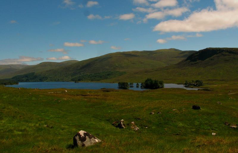 Loch Ossian & SYHA Hostelling Scotland hostel  http://www.syha.org.uk/hostels/highlands/loch_ossian.aspx