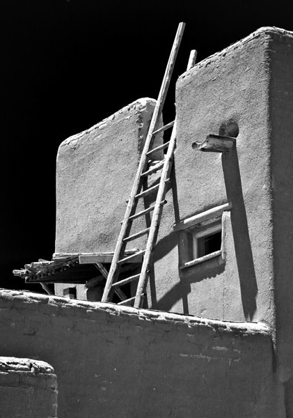 "'Access' Pojoaque Pueblo, NM   12""x16"", Luster paper limited edition of 25"