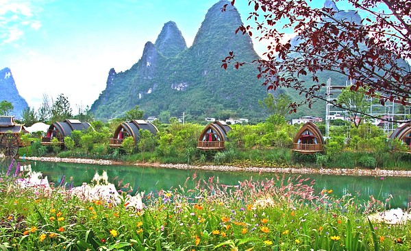 桂林三千漓 Guilin 3000miles river hotel