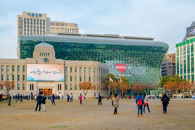 Seoul City Hall Area