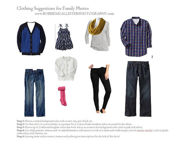 Family Session: Clothing Suggestions