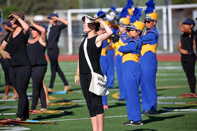 Santa Clara High School field show