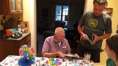 Dad's 83rd Birthday Celebrated 080120