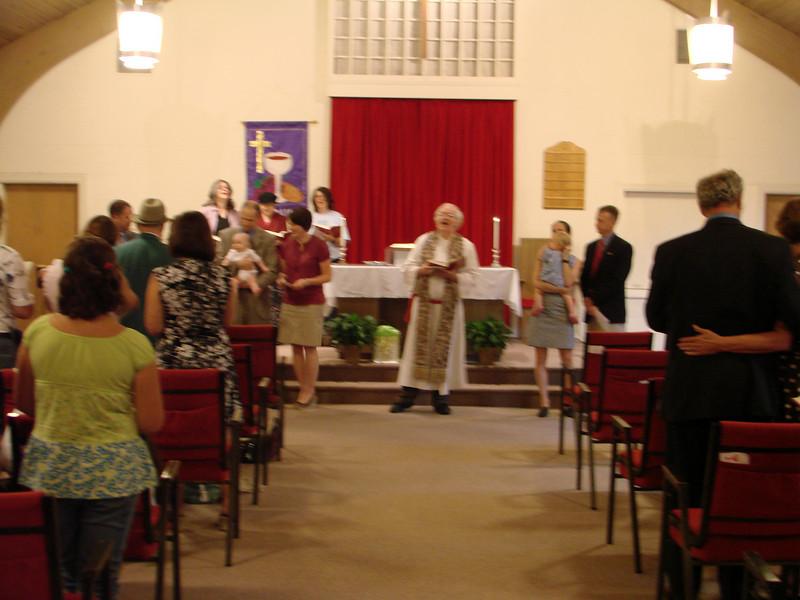 Park Street Christian Church Infant Dedication 2009 July 002.jpg