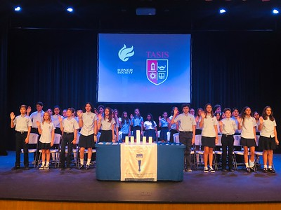 National Junior Honor Society - Strivers Chapter Induction Ceremony 2018-2019
