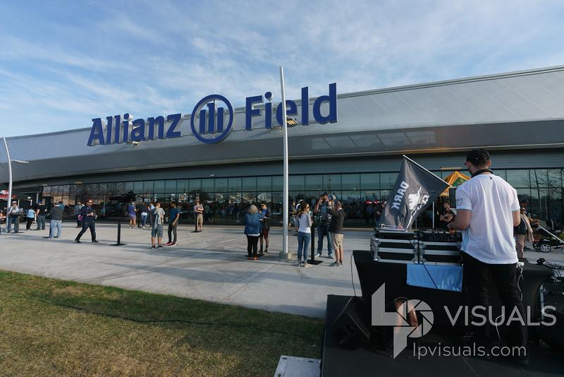 Minnesota United vs LA Galaxy at Allianz Field, Saint Paul, MN, USA. 5/24/19