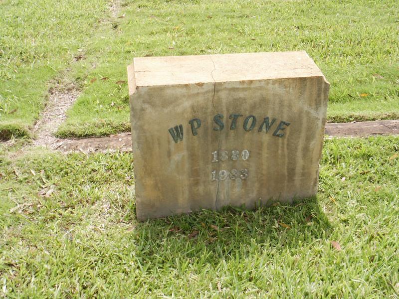 W P Stone
