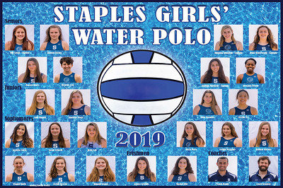 2019 Staples Girls' Water Polo