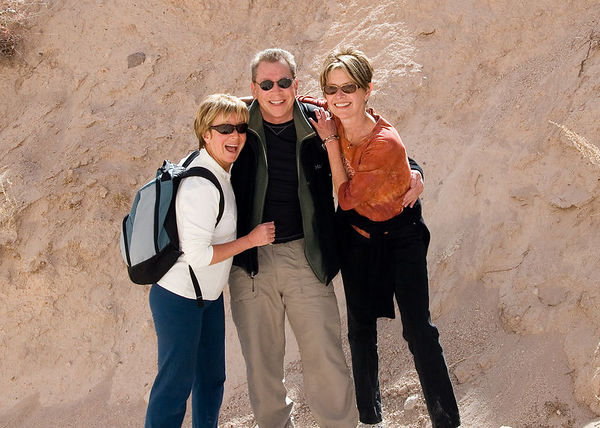Tent Rocks with Janeal and Kathy