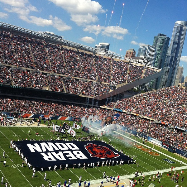 #nofilter required today! #BearDownChicagoBears