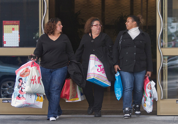 shoppers at hillsdale