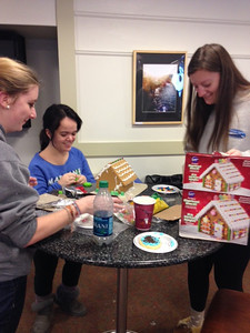 Gingerbread House Dorm Challenge