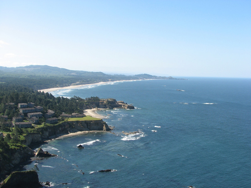 The view from Otter Crest.