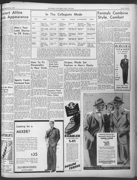 Daily Trojan, Vol. 30, No. 105, March 24, 1939
