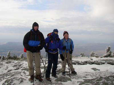 Abraham (VT) hike: Nov. 6